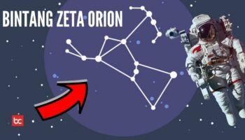 Fakta Bintang Zeta Orion (Alnitak), Bintang Seperti Berlian Yang Sangat Terang
