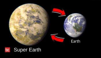 Bumi Super Planet Layak Huni dan Memiliki Atmosfer Lebih Banyak