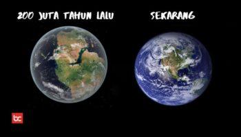 200 Juta Tahun Lalu, Penampakan Bumi Seperti Apa Ya?