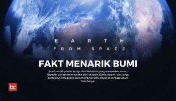 10 Fakta Bumi yang Jarang Diketahui, Mengejutkan!