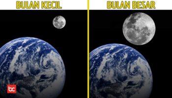 Jika Bulan Berada Sangat Dekat Dengan Bumi