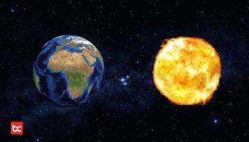 Jika Ukuran Bumi Sama Dengan Matahari, Apa yang Terjadi?
