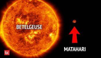 Sebesar Apa Matahari dengan Bintang Lain?