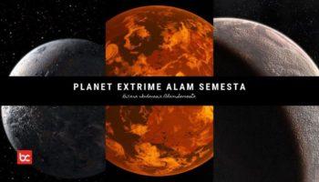 Planet Paling Ekstrem di Alam Semesta
