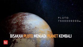 Pluto Kembali Menjadi Planet!?