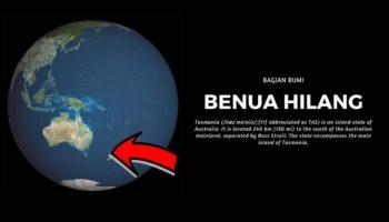Bumi Punya Satu Benua Tersembunyi, Benarkah?