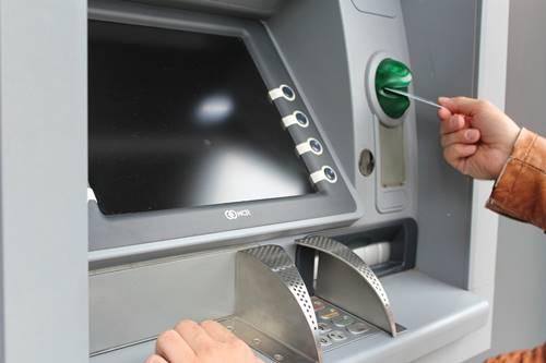 Mesin ATM yang mati