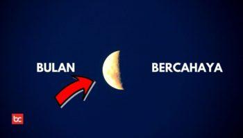 Cahaya Bulan Lebih Terang Dari Venus Dan Bintang?
