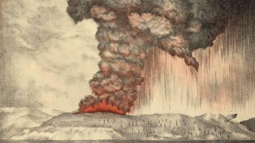 Sejarah Kelam Letusan Gunung Krakatau