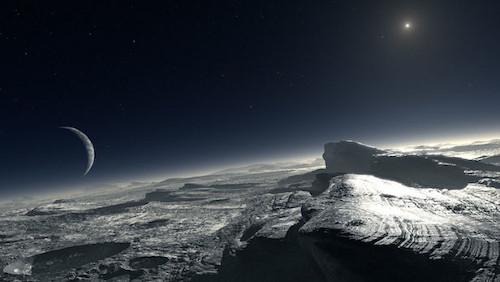 Misteri tersembunyi Planet pluto