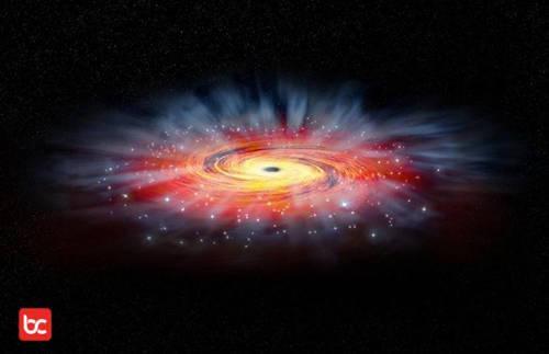 Lubang Hitam di Pusat Galaksi