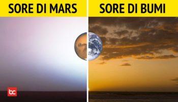 Senja di Mars Ternyata Berwarna Biru
