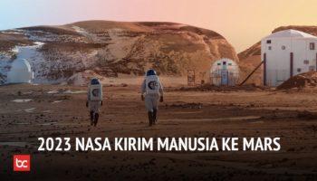 2023 Manusia Akan Tinggal di Mars!