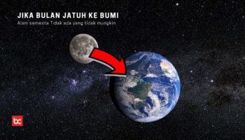 Jika Bulan Jatuh ke Bumi, Apa Yang Terjadi?