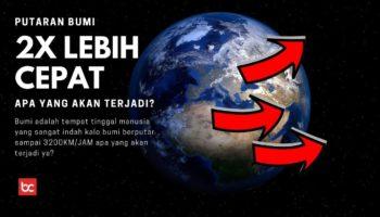 Jika Bumi Berputar 2 Kali Lebih Cepat, Apa yang Terjadi