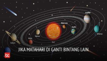 Jika Matahari diganti Oleh Bintang Lain