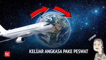 Pesawat Komersial, Bisakah Ke Luar Angkasa?