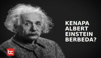 Albert Einstein Berbeda dengan Manusia Normal?