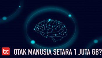 Kapasitas Otak Manusia Ternyata Setara 1 Juta GB, Ini Penjelasannya