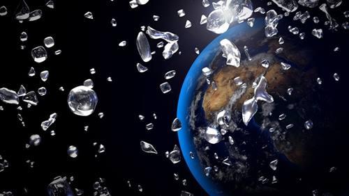 Gambar ilustrasi hujan berlian di eksoplanet