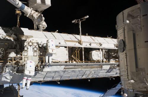 bagian luar ISS