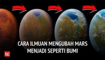 Mengubah Mars Menjadi Seperti Bumi