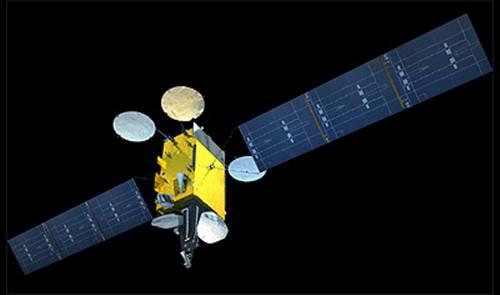 Gambar Satelit N-1 yang siap diluncurkan