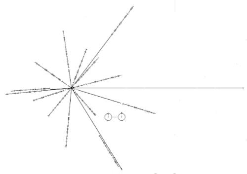 Isi Rekaman Emas Satelit Voyager : Pulsar Map