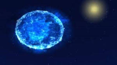 Bintang Berbentuk Telur di Alam Semesta