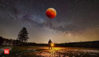 Cara Melihat Fenomena Gerhana Bulan Penumbra