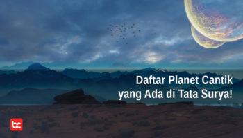 Ini Daftar Planet yang Cantik di Tata Surya