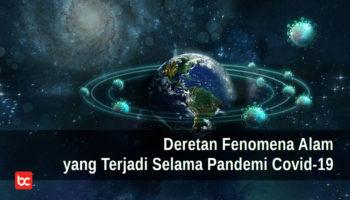Deretan Fenomena Alam yang Terjadi Selama Pandemi Covid-19