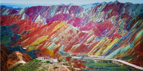 Gunung Pelangi China