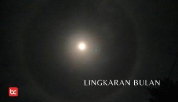 Lingkaran Bulan Fenomena atau Pertanda Musibah?