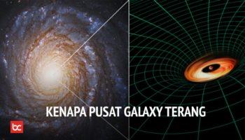 Jika di Pusat Galaksi Adalah Lubang Hitam, Kenapa Ada Titik Cahaya yang Sangat Terang?