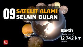9 Satelit Alami Luar Angkasa Selain Bulan