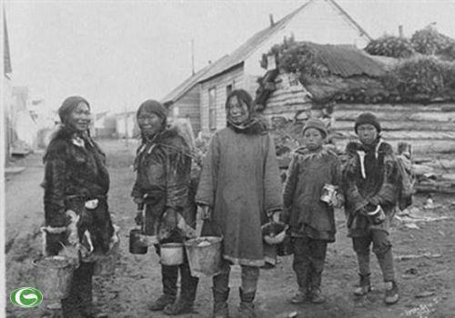 Penduduk Anjikuni Kanada