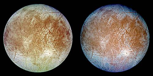 Satelit Europa yang seperti kembar