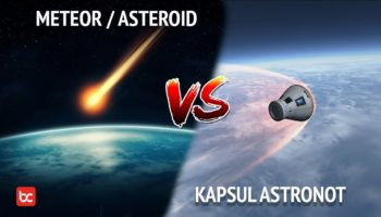 Kenapa Asteroid Habis Terbakar Saat Masuk Atmosfer Bumi Sedangkan Roket Tidak?