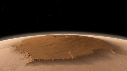 Olympus Mons - Tempat Wisata Keren di Mars