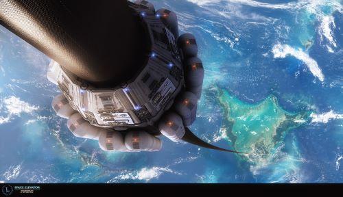 Space Elevator - Perjalanan keluar angkasa