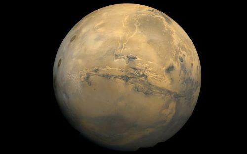 Valles Marineris - Tempat Wisata Keren di Mars