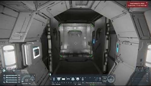 penampakan airlock pesawat luar angkasa