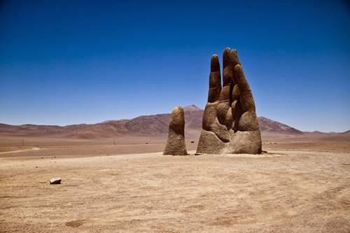 Gurun Atacama dikenal paling kering seperti tanpa kehidupan