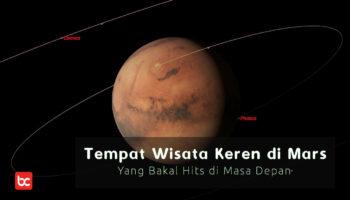 Tempat Wisata Keren Mars yang Hits di Masa Depan!