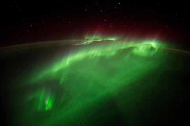 Foto dari ISS
