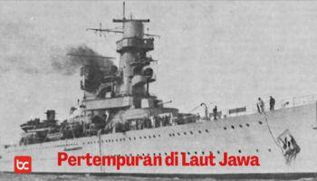Laut Jawa, Tempat Pertempuran Laut Terbesar