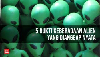 5 Bukti Keberadaan Alien yang Dianggap Nyata