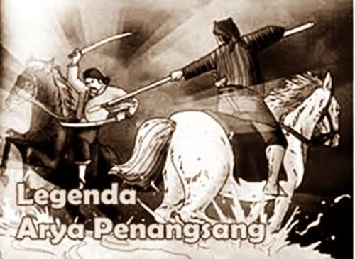 poster legenda Arya Penangsang berhubungan dengan awal Keris dikenal masyarakat