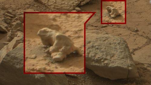 Alien Reptil di Mars - Objek Aneh